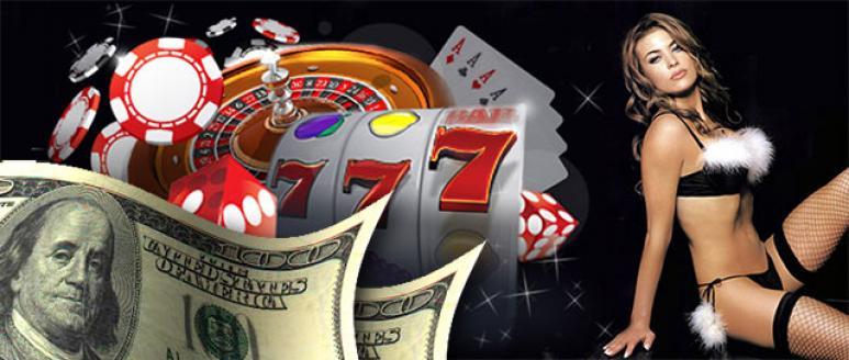 dinero, mujer sexy, juegos de casino